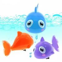 Mainan Berenang dalam Air - Hewan Ikan Untuk Mandi Anak Bayi