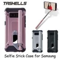 Tashells Built In Selfie Stick Case Wired Samsung Note 8
