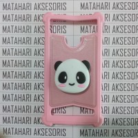 Case Advan Anti Crack Karakter Panda Gambar 3D POPSOCKET Advan
