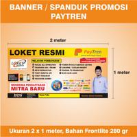 Banner/Spanduk Loket Resmi Agen Paytren Ver.2 - Ukuran 2 x 1 meter