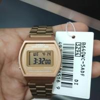 Jam tangan wanita Casio B640WC-5ADF rosegold original