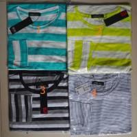 11 Macam Baju / Kaos Salur Lengan Panjang / Stripped / Belang / Wanita