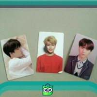 UNSEALED BTS PHOTOCARD TEAR HER ANSWER PC LOVE YOURSELF