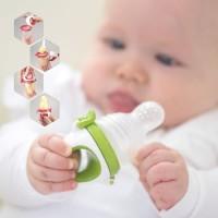 Kidsme Baby Food & Fruit Feeder Plus Teether Empeng Buah Kids me