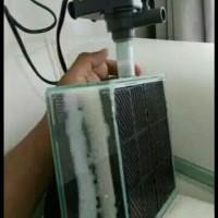 filter aquarium tanpa kuras ukuran sedang tanpa pompa