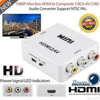 HDMI to AV RCA Conventer adapter