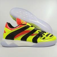 Sepatu FUtsal Adidas Predator Accelerator Solar Yellow TF Replika Impo