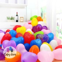 Balon Latex Love / Balon Karet Bentuk Love / Balon Hati