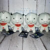Keychain Boneka Asian Games - Egg doll Atung Kaka Bhin bhin