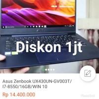 Asus Zenbook UX430UN-GV003T/I7-8550/16GB/WIN 10