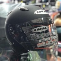 Helm Half Face INK Centro Black Doff
