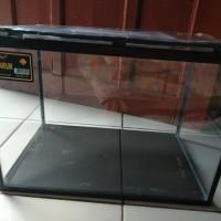 Nikita Aquarium Reptil/Ikan size L tinggi+Tutup