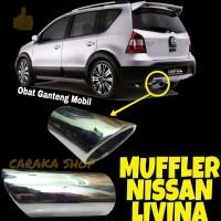 Muffler Ujung Knalpot GRAND LIVINA Mufler Sambungan Knalpot Nissan