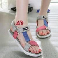 Termurah Sepatu Sandal Wanita Sandal Docmart Gunung Abu Pink