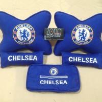 Bantal Mobil Chelsea / Motif Chelsea /Juventus/Juventini/Real Madrid