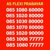 Nomor Perdana Kartu AS Flexi Cantik Flexy PRABAYAR Baru
