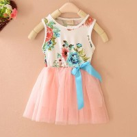 Baju Anak Perempuan Lady Flower G0002 Red