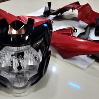 headlight atau headlamp yamaha new vixion advance original