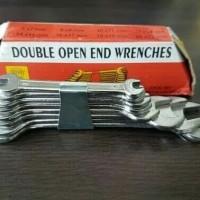 Kunci Ring Pas 1 Set Isi 8 Ukuran 6 - 22 Tool Kit Alat Bengkel