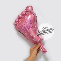 balon foil kaki baby girl mini / balon kaki bayi cewe / baby shower