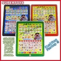 TERMURAH Playpad Anak Muslim Ipad Arab 4 Bahasa - Mainan edukasi