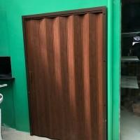 Partisi Ruangan PVC - Pintu Lipat PVC - Folding Door - Folding Gate