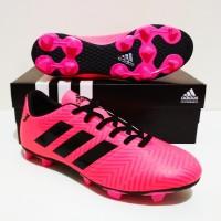 SEPATU BOLA Adidas Nemeziz 18 FG MURAH BERKUALITAS (Pink Black)