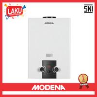 Pemanas Air Gas Modena GI 6 AV Water Heater Gas GI 6A V - PROMO