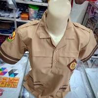 Baju Pramuka Siaga Pendek SD kelas 3-4 Seragam Sekolah