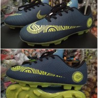Sepatu Sepak Bola Nike Mercurial CR7 Abu Kuning Murah Terlaris