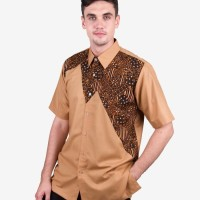 Baju Hem Pria Batik Tulis Bahan Katun