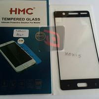 anti gores HMC tempered glass 2.5D full cover Nokia 5