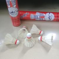 Kok / Shuttlecocks Badminton Glory Merah Isi 12 Pcs - Garuda