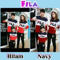 Baju Couple Family Fila - Pakaian Pasangan Baju Keluarga Murah