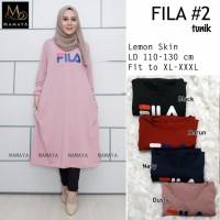 Baju wanita blouse tunik fila#2 muslim modern modis lucu unik