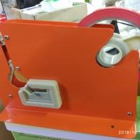 Selotip buah isolasi bag neck sealer 9MM nachi merah pvc pengikat