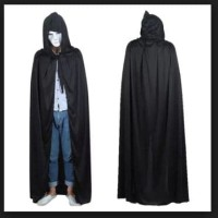 Baju Halowen Kostum Penyihir Panjang 125cm