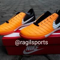 Sepatu Futsal Nike Tiempo Black/Orange
