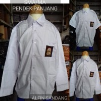 baju SMA putih pendek panjang kelas 1,2,3 seragam sekolah