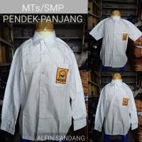 baju SMP putih pendek panjang MTs kelas 1.2.3 seragam sekolah