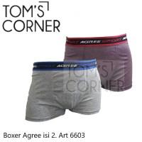 [isi 2]Boxer Agree   Celana boxer pria 6603   No rider crocodile gtman