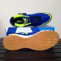 Sale Sepatu Futsal Kelme K-Strong Royal Blue Lime 55787 Original BNIB