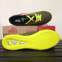 Sale Sepatu Futsal Specs Quark IN Olive Zest Green 400778 Original