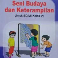Buku SD Kelas 5 SBK UNTUK SD/MI KELAS VI.KTSP
