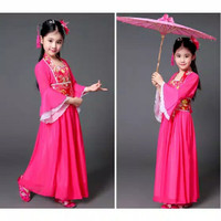 Baju Traditional Cina China ANAK Baju Chinese Pakaian Hanfu Adat Kuno