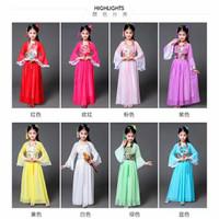 Baju Adat ANAK Show Daerah Cina China Chinese Kostum Traditional Hanfu