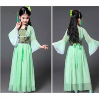 Kostum ANAK Cina China Chinese Baju Traditional Pakaian Adat Kuno Show