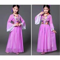 Kostum Baju Anak Cina China Traditional Pakaian Chinese Hanfu Adat
