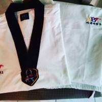 Baju Taekwondo Dewasa - AB Fighter DAN - 150