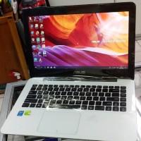 Leptop Asus A455L core i3 ram 4gb,hdd 500gb,vga nvdia 2gb Mantap